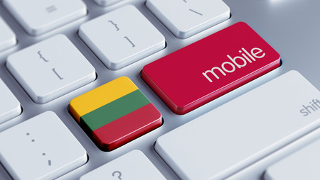 Lithuania High Resolution Mobile Concept photo