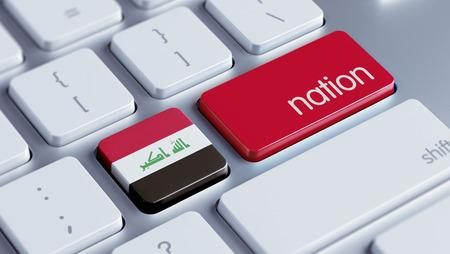 nation: Iraq High Resolution Nation Concept