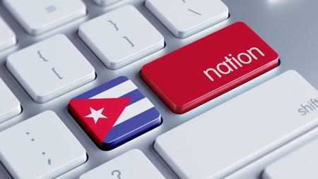 nation: Cuba High Resolution Nation Concept