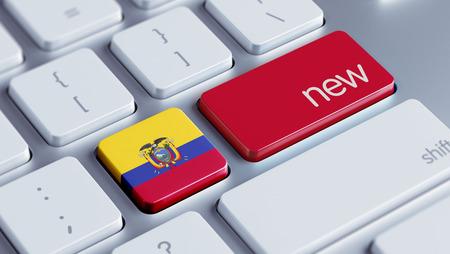 renewed: Ecuador High Resolution Keyboard Concept