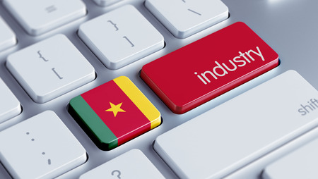 multinational: Cameroon High Resolution Keyboard Concept