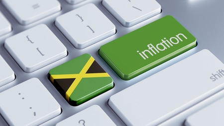 inflation: Jamaica High Resolution Inflation Concept Stock Photo