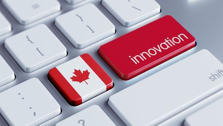 Canada met hoge resolutie Innovation Concept