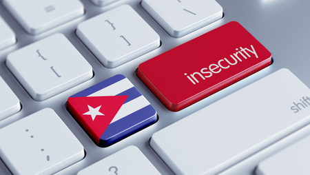 insecurity: Cuba High Resolution Insecurity Concept