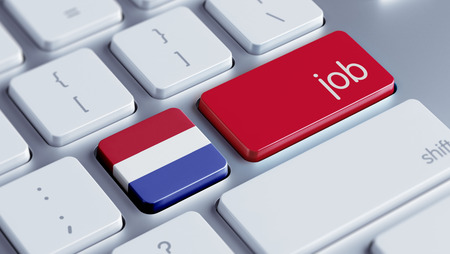 Netherlands High Resolution Job Concept