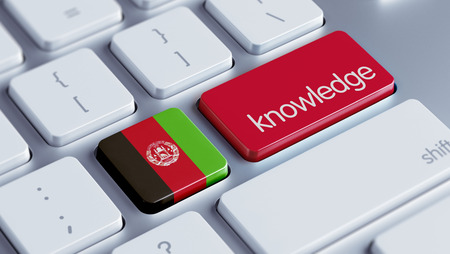 dogma: Afghanistan  High Resolution Knowledge Concept Stock Photo