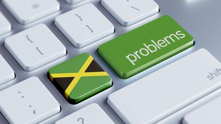rectify: Giamaica Alta Risoluzione Problemi Concetto Archivio Fotografico