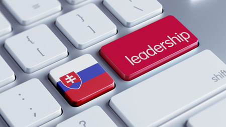 slovakian: Slovakia High Resolution Leadership Concept Stock Photo