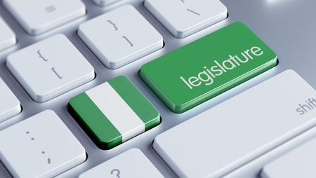 나이지리아 고해상도 입법부 개념 스톡 콘텐츠