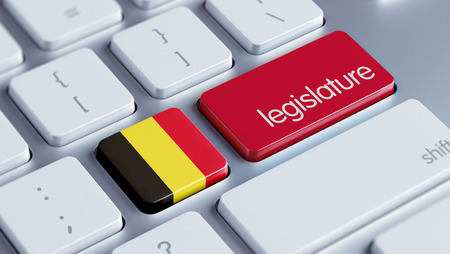 prosecution: Belgium High Resolution Legislature Concept