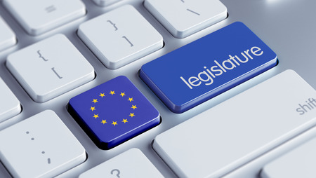 European Union High Resolution Legislature Concept photo
