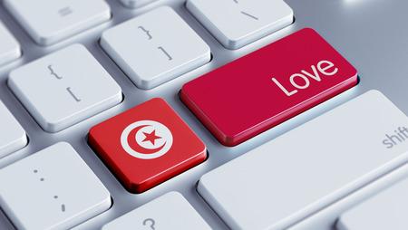 Tunisia High Resolution Love Concept photo