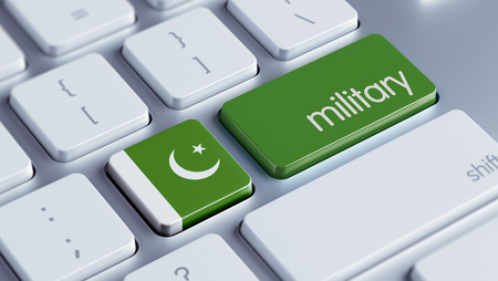 major force: Pakistan High Resolution Military Concept Stock Photo