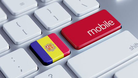 Andorra High Resolution Mobile Concept photo