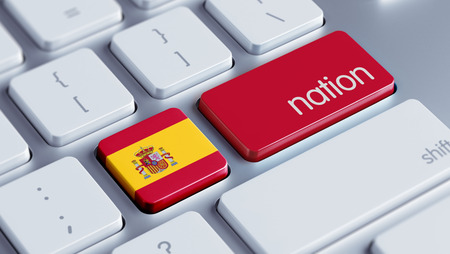 nation: Spain High Resolution Nation Concept