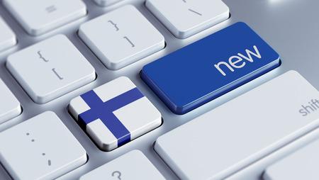 renewed: Finland High Resolution New Concept Stock Photo