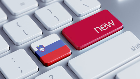renewed: Slovenia High Resolution New Concept Stock Photo