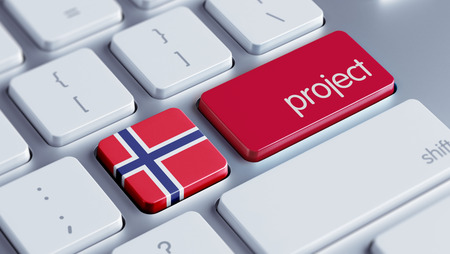 norwegian flag: Norway High Resolution Project Concept