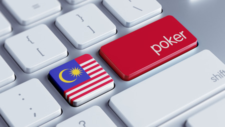 wining: Malaysia High Resolution Poker Concept