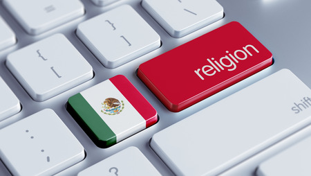 worshipper: Mexico  High Resolution Religion Concept