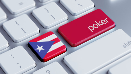 roulette online: Puerto Rico High Resolution Poker Concept
