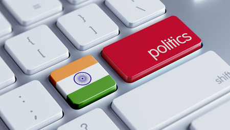 India High Resolution Politics Concept photo