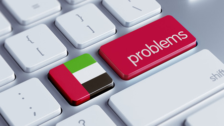 rectify: United Arab Emirates  High Resolution Problems Concept