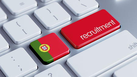 contracting: Portugal High Resolution Recruitment Concept Stock Photo