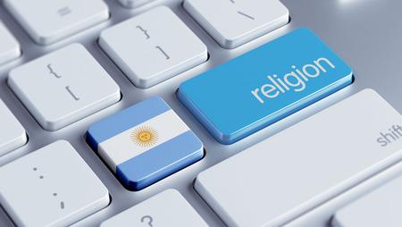 worshipper: Argentina High Resolution Religion Concept