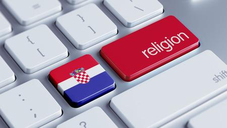 worshipper: Croatia  High Resolution Religion Concept Stock Photo