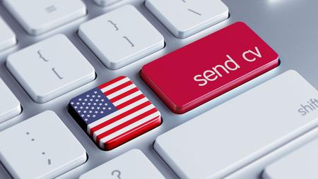 United States High Resolution Send CV Concept photo