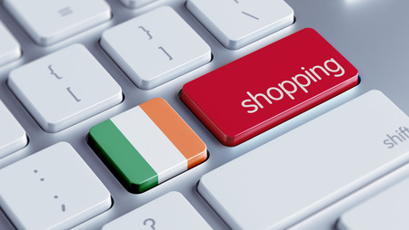 Ireland High Resolution Shopping Concept photo