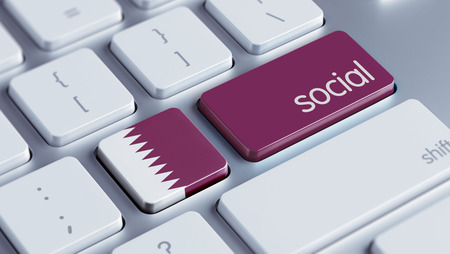 societal: Qatar High Resolution Social Concept Stock Photo