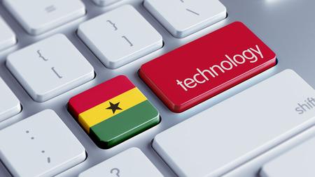 Ghana High Resolution Technology Concept photo