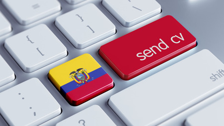 Ecuador High Resolution Keyboard Concept photo