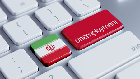 Iran High Resolution Unemployment Concept photo