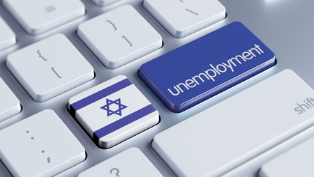 Israel High Resolution Unemployment Concept photo