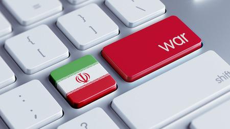tussle: Iran High Resolution War Concept