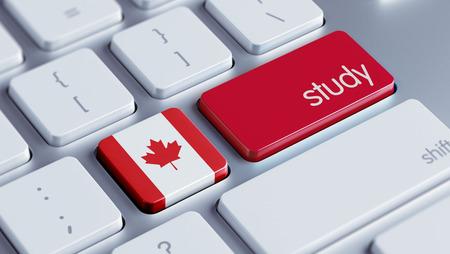 Canada met hoge resolutie Study Concept