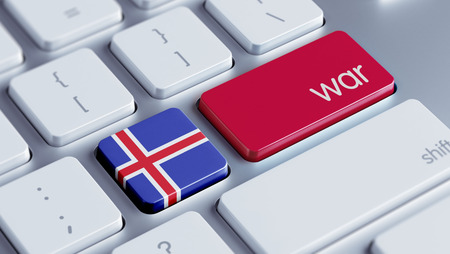 tussle: Iceland High Resolution War Concept
