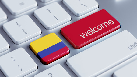 Colombia High Resolution Welcome Concept