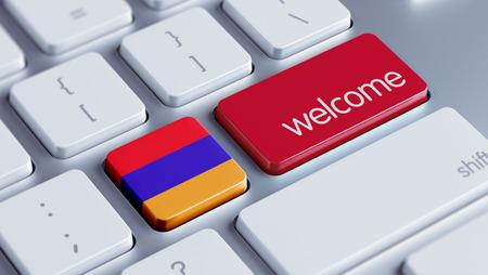 Armenia High Resolution Welcome Concept Stock Photo