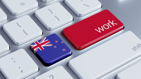 new zealand word: New Zealand High Resolution Work Concept