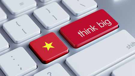 think big: Vietnam High Resolution Think Big Concept