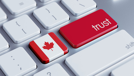 reliance: Canada High Resolution Trust Concept Stock Photo