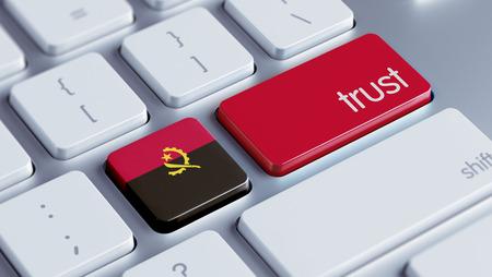 confianza concepto: Angola alta Resolution Trust Concept