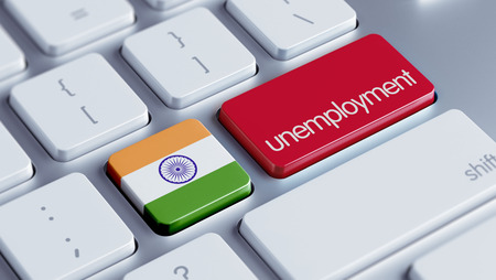 India High Resolution Unemployment Concept photo