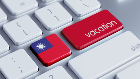 Taiwan High Resolution Vacation Concept Stock Photo
