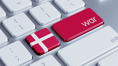 tussle: Denmark High Resolution War Concept