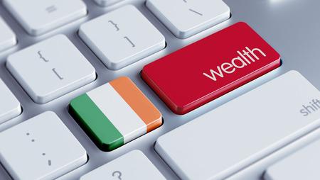 Ireland High Resolution Wealth Concept Stock Photo